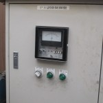 バレル研磨後の汚水PH調整機